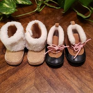 Infant girl winter boots